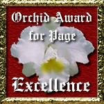 orchid award